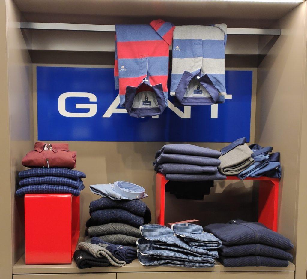 Gant-corner -Galassi Rimini Piazza Tre Martiri