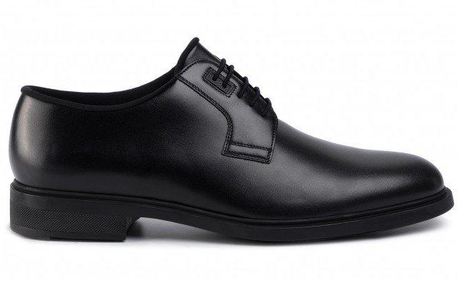 Hugo Boss_scarpe derby liscia