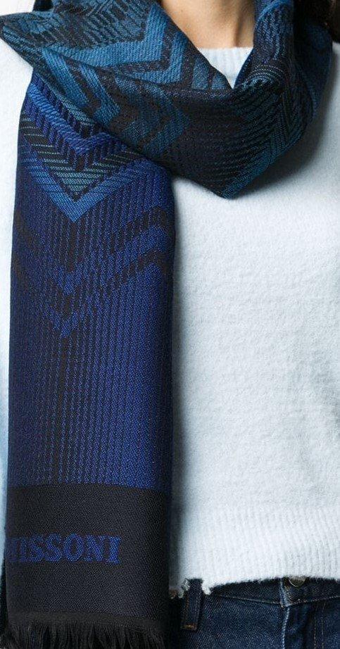 MISSONI-sciarpa-blu-frange-corte