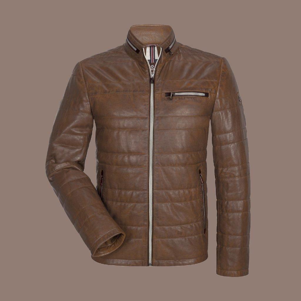 Jacket in pelle