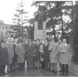 un gruppo di Sardi riminesi anni 50