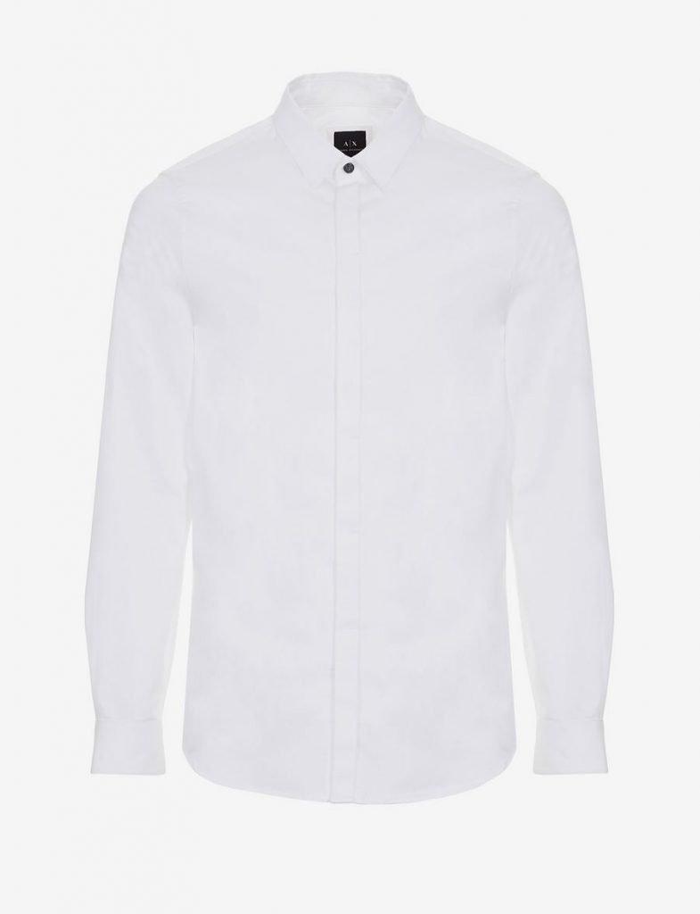 A | X Camicia slim fit bianca