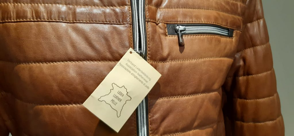 giubbotto pelle Milestone Jacket cognac