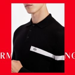 polo Armani Exchange Galassi Uomo