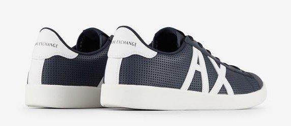 scarpe pelle blu