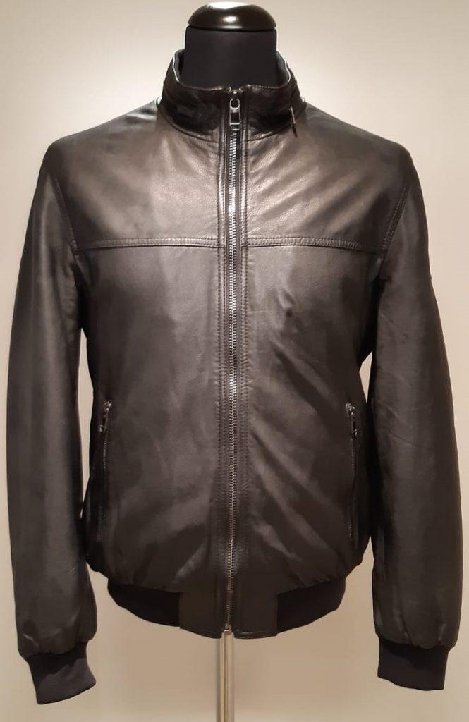 Milestone jacket giacca pelle agnello