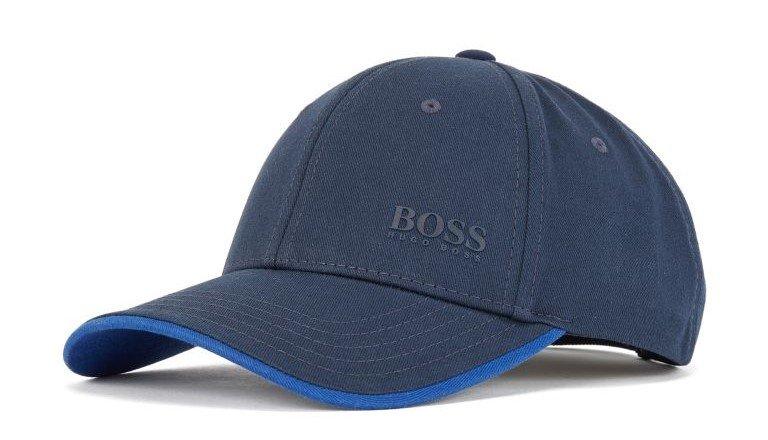 cappellino con visiera blu