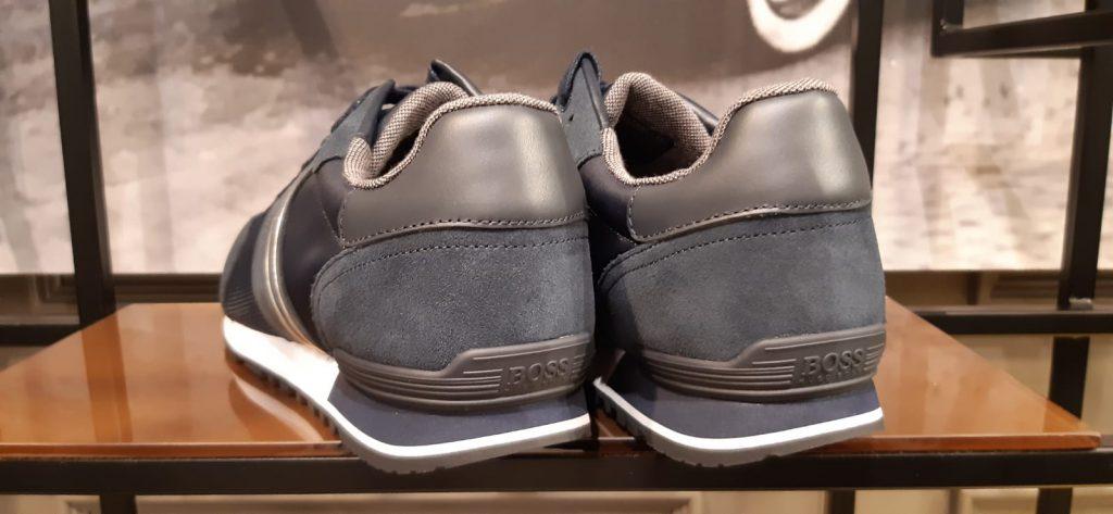 scarpe scamosciate runner